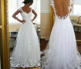 White Lace Long Form..