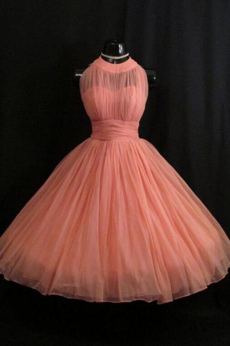 2016 Newest Homecoming Dress,Halter Homecoming Dress,Short Prom dress,Pink Homecoming Dresses